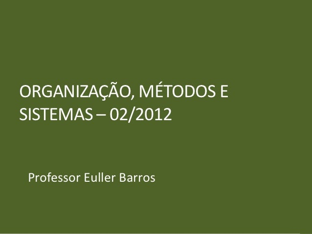 OMS UnB 02_2012 - Aula 02