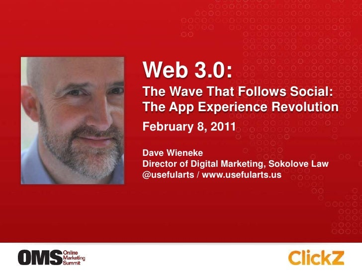 Online Marketing Summit: The Web3.0 Digital Marketing Revolultion