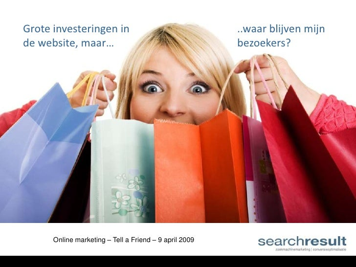 Zoekmachine marketing presentatie - Yannick Veys