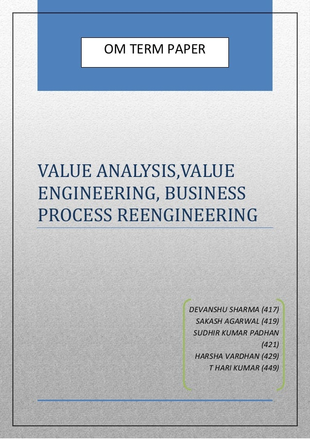 bachelor thesis business process reengineering Management concept of business process reengineering what new insights does the theory yield - kurt lehberger - master's thesis - business economics - business.