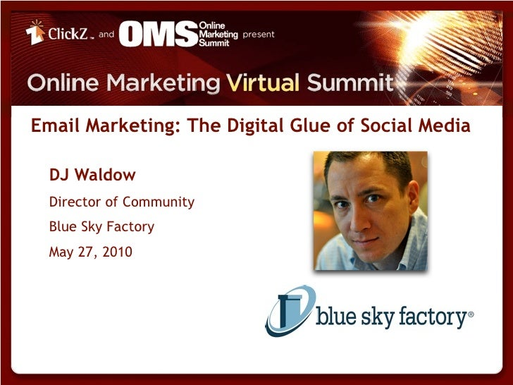 Online Marketing Summit with DJ Waldow