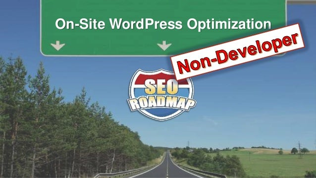 On-Site WordPress Optimization