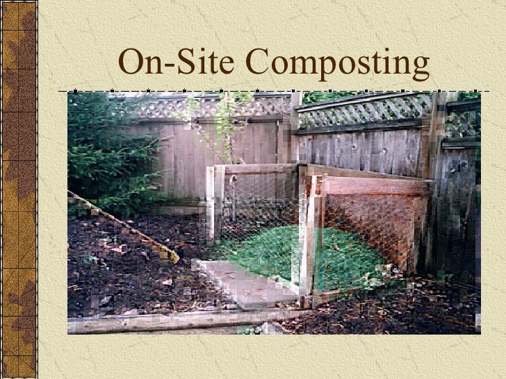 On Site Composting by Mark Bennett and Elaine Grassbaugh