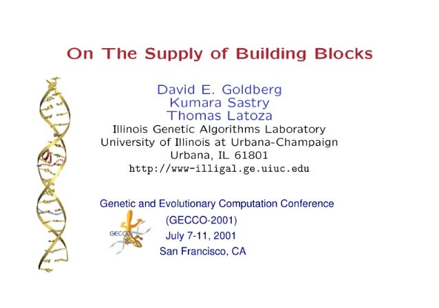 On the Supply of Building Blocks