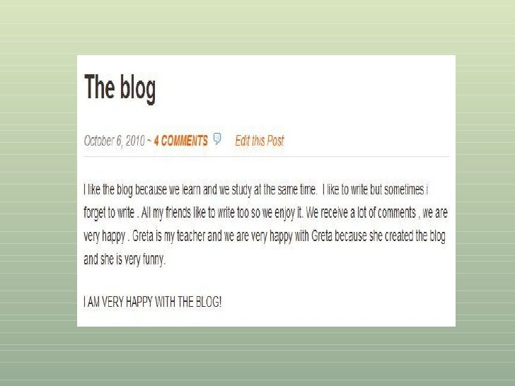On blogging