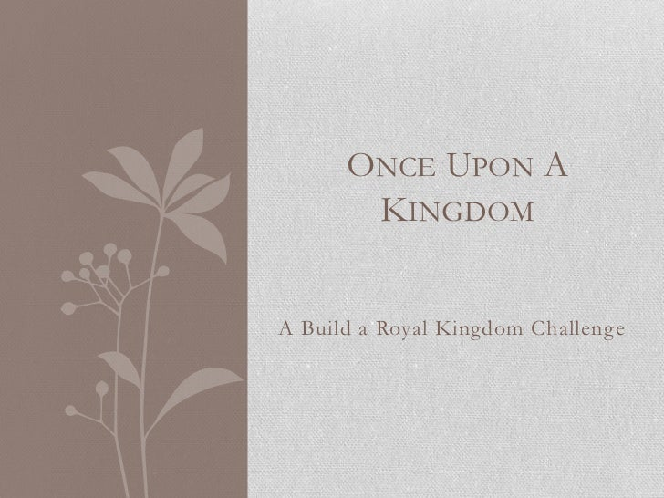 Once Upon A Kingdom: Chapter 2