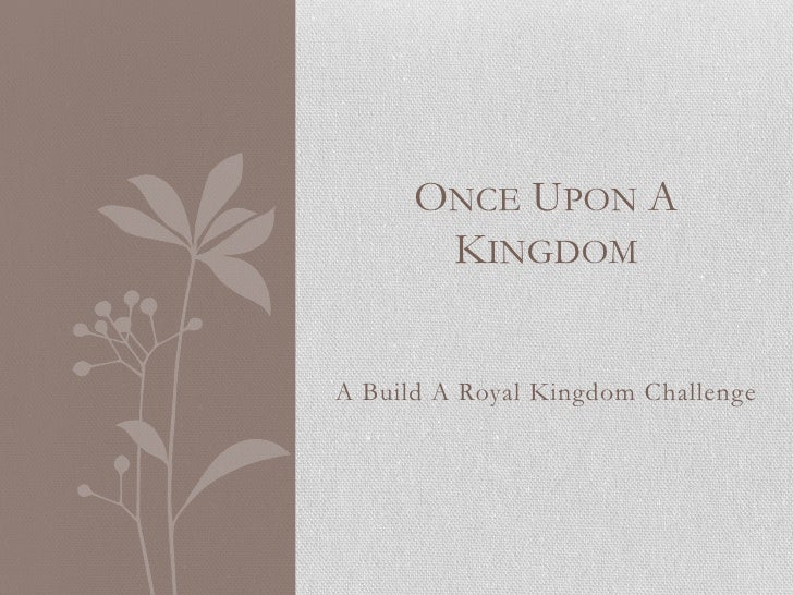 Once Upon A Kingdom: Chapter 7C