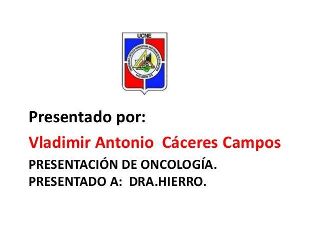 Onco expo de cáncer de vías biliares