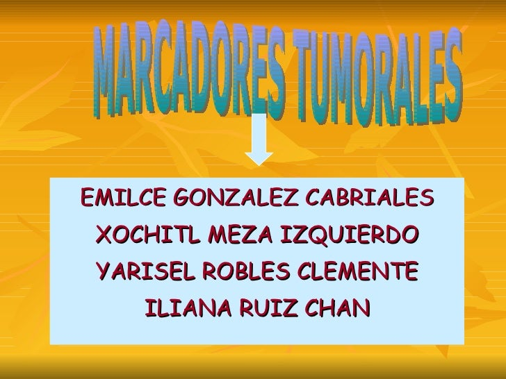 Oncologia Marcadores Tumorales2