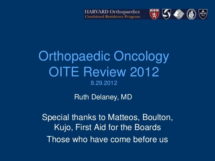 Oncology oite-review-2012
