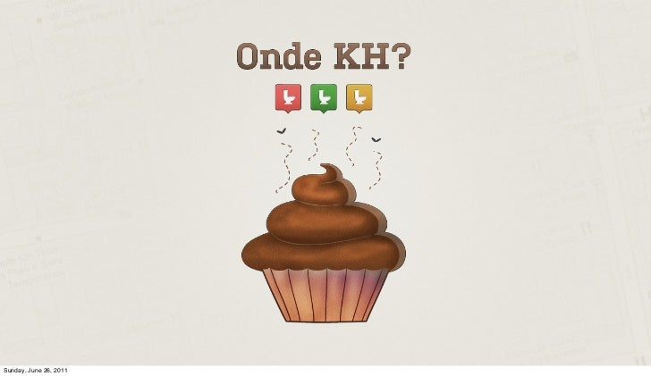 Onde KH? (where to poop?) Pitch Keynote at SWRIO