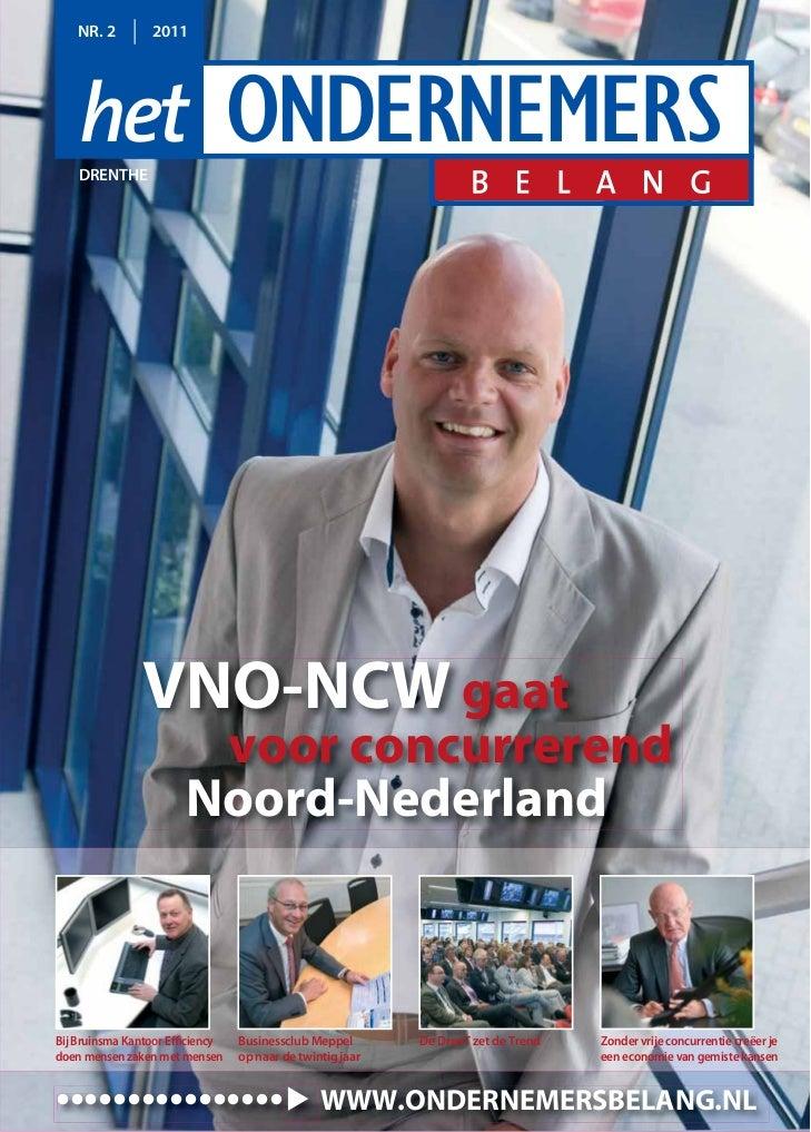 NR. 2        2011    DRENTHE                VNO-NCW gaat                        voor concurrerend                       No...