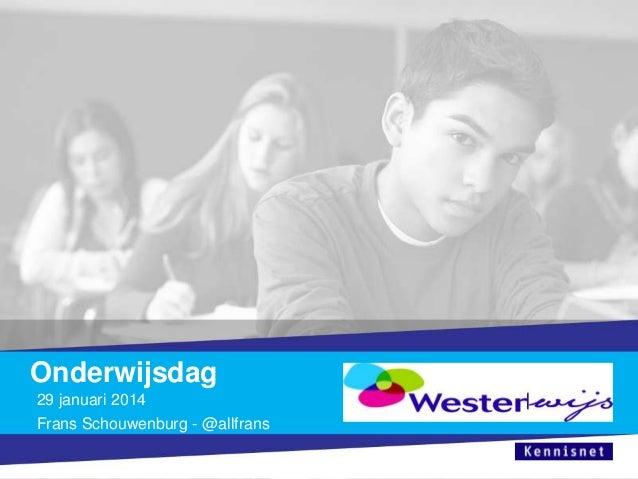 Onderwijsdag westerwijs