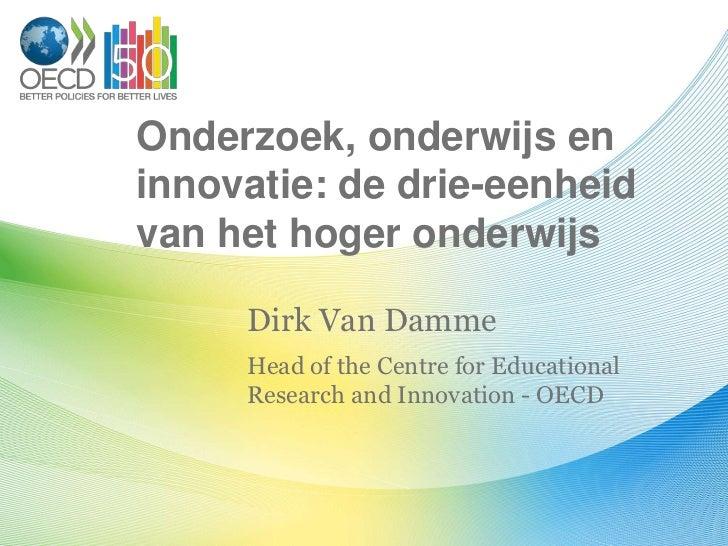 Onderzoek, onderwijs en innovatie