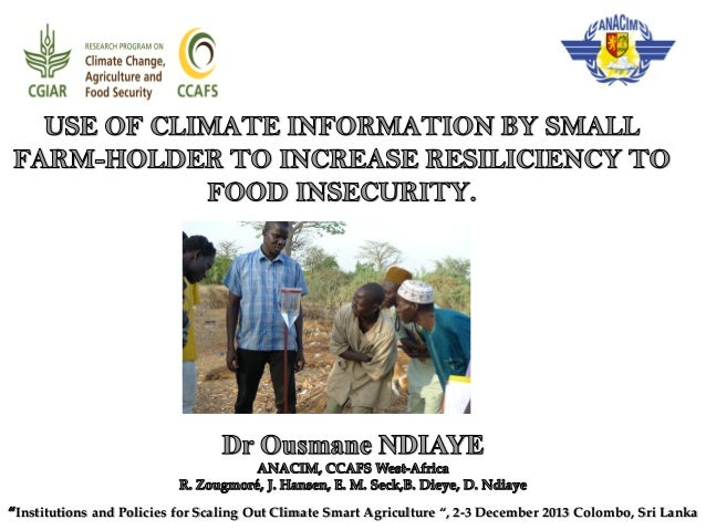 """Institutions and Policies for Scaling Out Climate Smart Agriculture """", 2-3 December 2013 Colombo, Sri Lanka"""