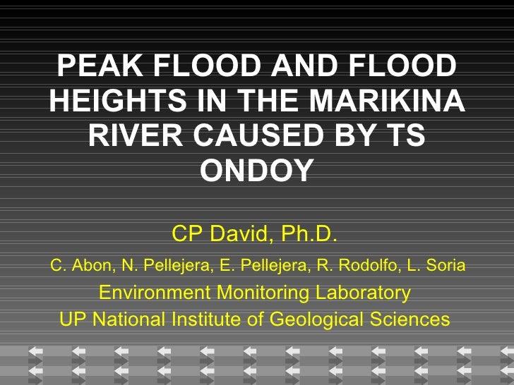 Ondoy  Flood  Survey Inq