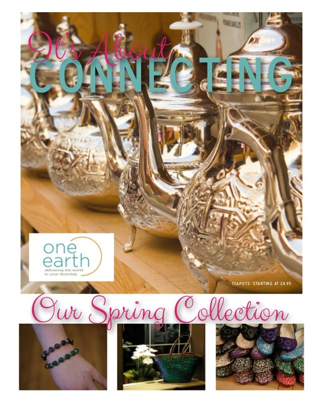 One Earth Spring 2014 Catalogue - Morocco Collection