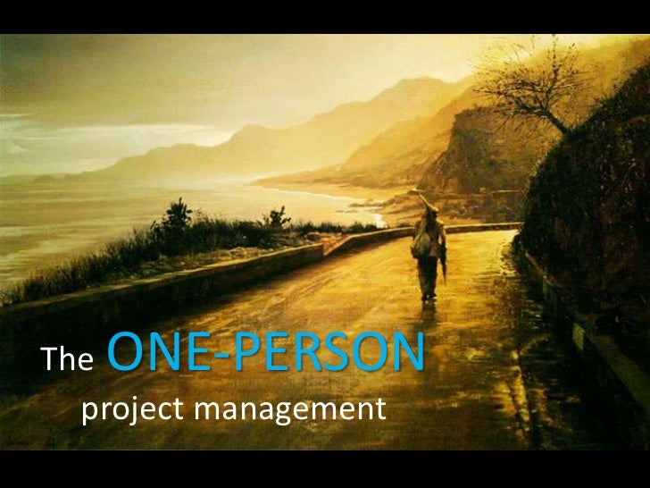 One-person project