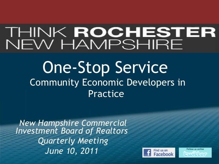 One-Stop Economic Development