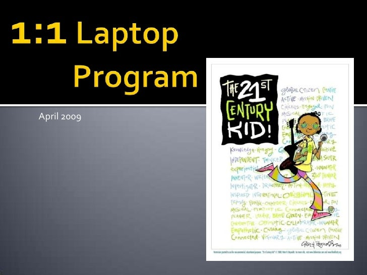 One To One Laptop Proposal