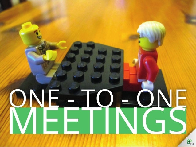 Management: One-On-One Meetings
