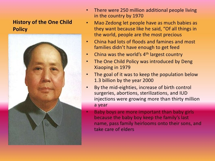 one child policy essay introduction I commend you on your effort in trying to show both benefits and adverse effects of the one child policy the damage has already been done, but would you consider a.