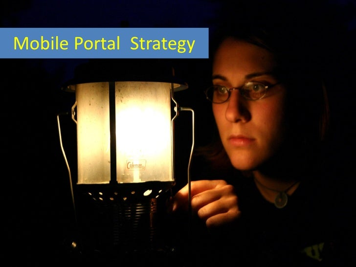 One Data StrategyMobile Portal Strategy