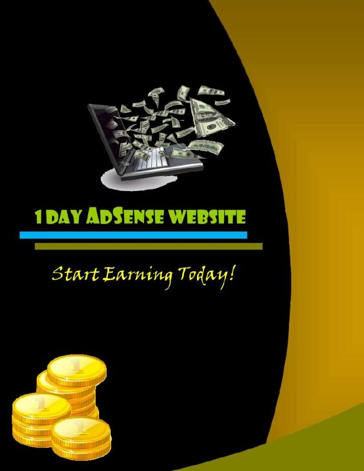 IntroductionWant to get your first website up andrunning in less than a day? Don't want towait to start earning the AdSens...