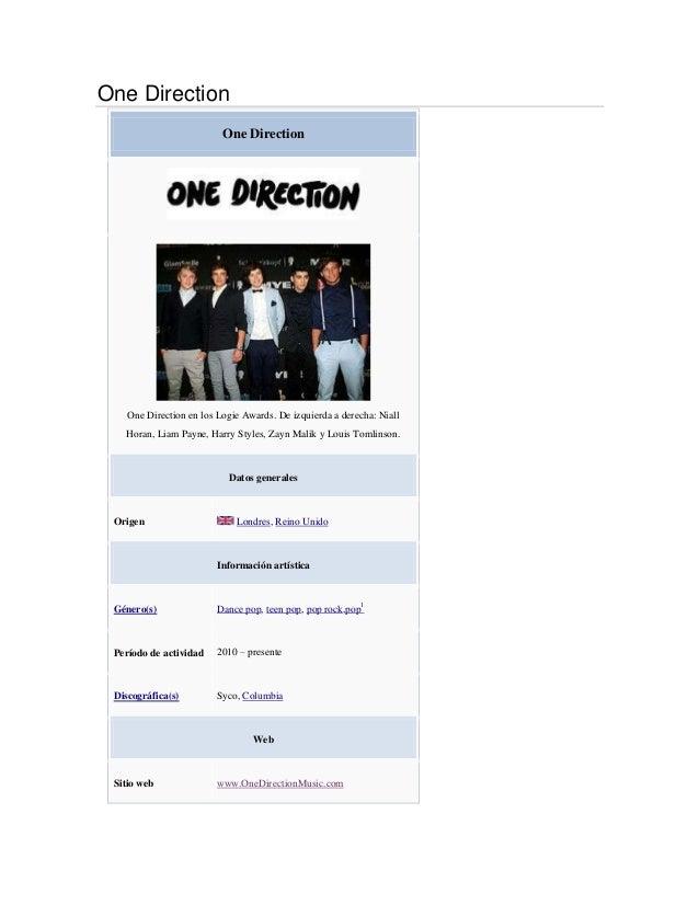 One Direction                          One Direction    One Direction en los Logie Awards. De izquierda a derecha: Niall  ...