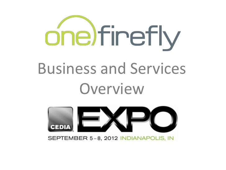Business and Services      Overview
