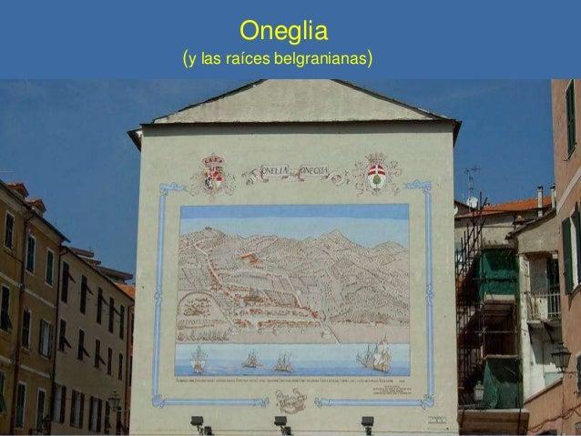 Oneglia (y las raíces belgranianas)