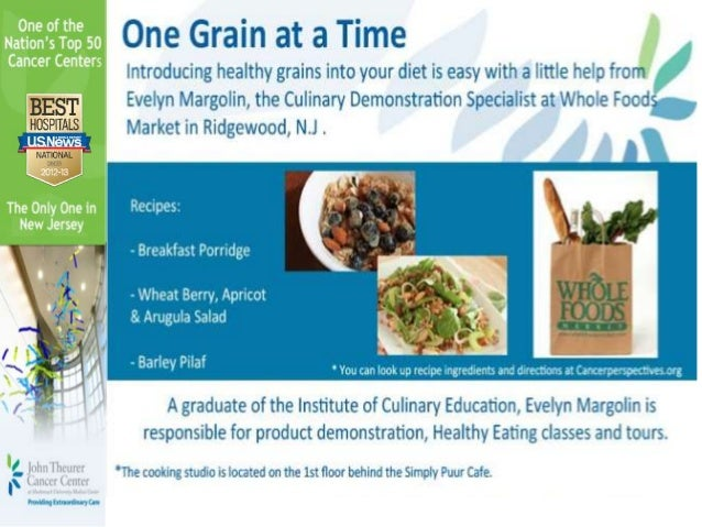 One grain at a time 9 14-12 tv