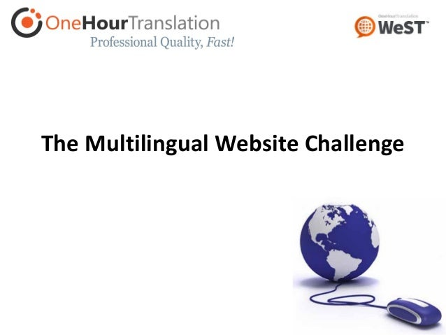 The Multilingual Website Challenge