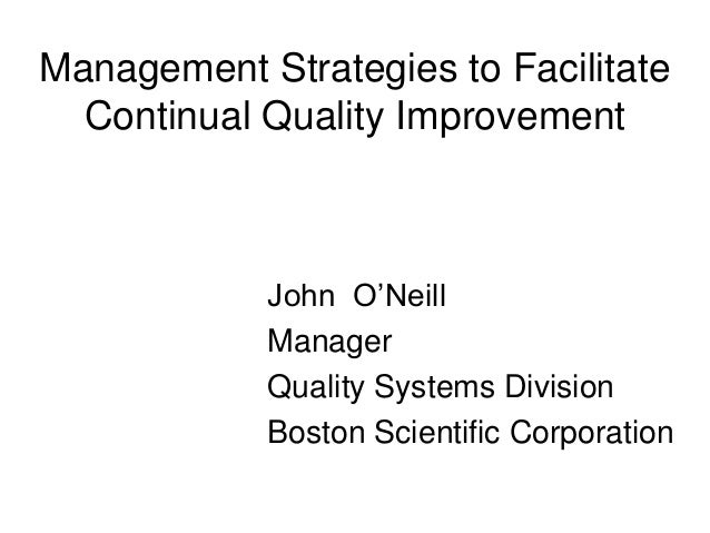 bsbmgt1516c facilitate continuous improvement bsbmgt1516c facilitate continuous improvement formative assessments activity 1 1 employees can take the initiative in matters that are related to improving the quality of services offered by the organization or by resolving existing problems.