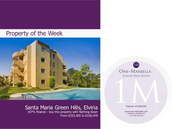 Property of the Week                                                            Luxury Real Estate      Santa Maria Green ...