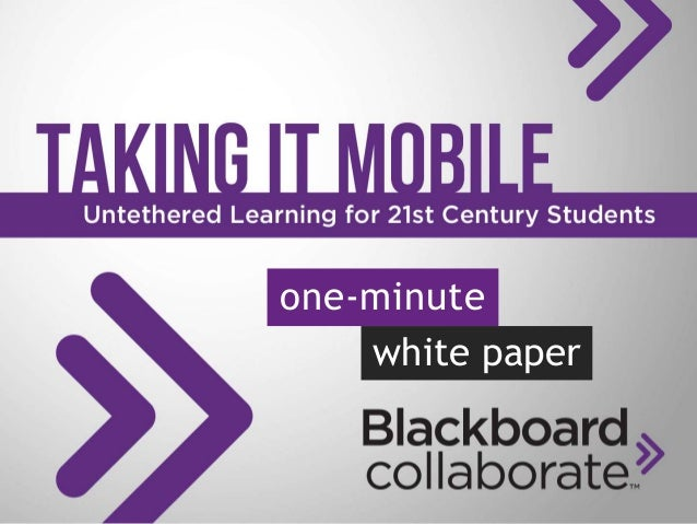 one-minute white paper
