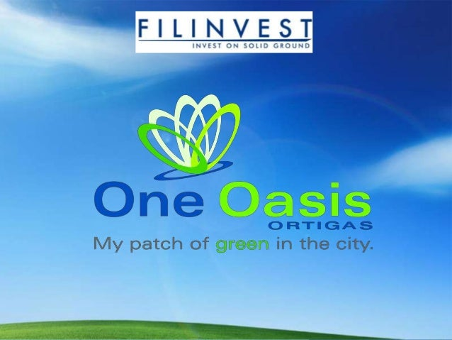 ONE OASIS in Pasig By Filinvest