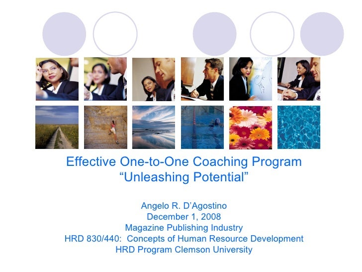 One On One Coaching