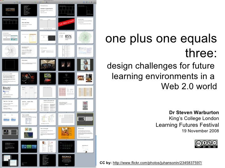Design challenges for future learning
