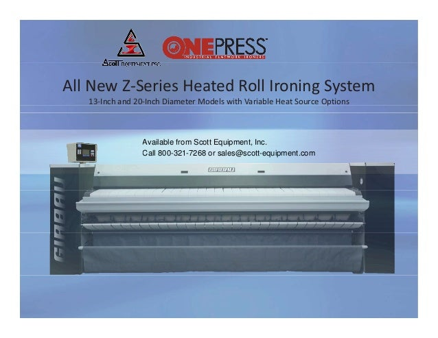 One press z series ironer review