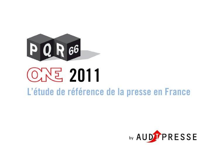 2011L'étude de référence de la presse en France                          by