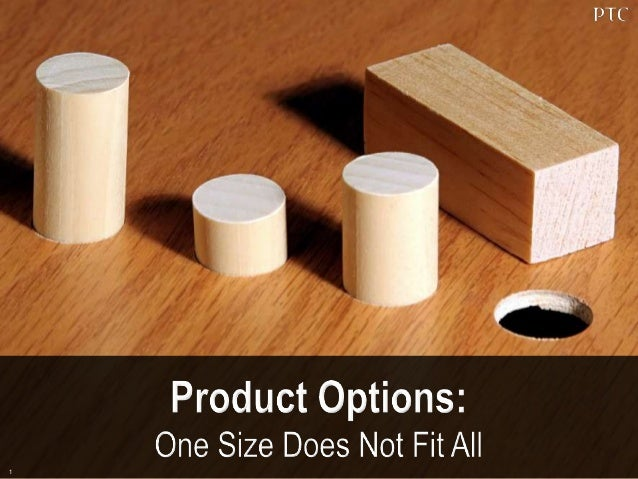 One Size Does Not Fit All:  Relieve the Headaches of Product Complexity
