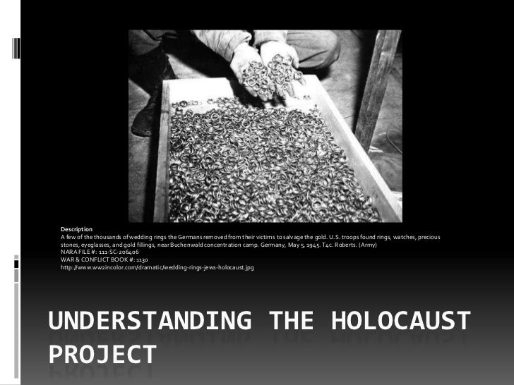 One slide understanding the holocaust project