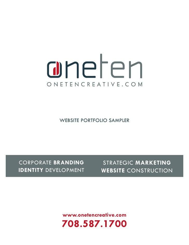 website portfolio sampler                               strategiC marketing Corporate Branding identity Development      w...