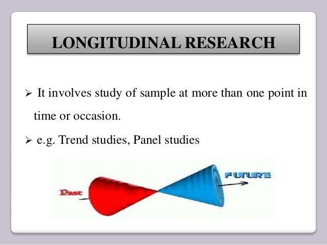 longitudinal research design articles
