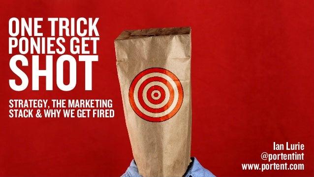 One Trick Ponies Get Shot: Doing Digital Marketing Right