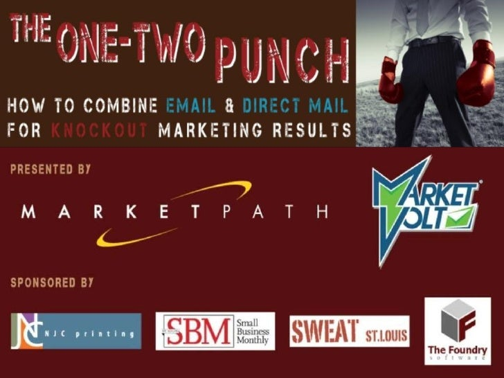 The One-Two Punch: How To Combine Email & Direct Mail For Knockout Marketing Results