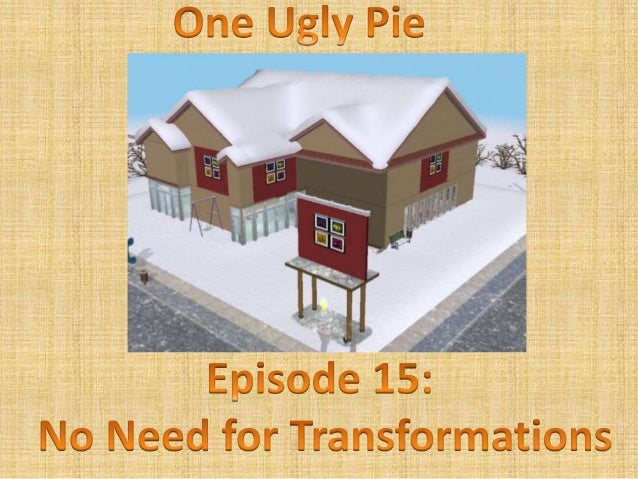 One ugly pie 15.1