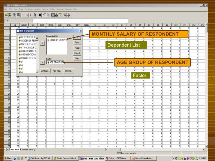 Spss analysis for yes/no questionnaire?