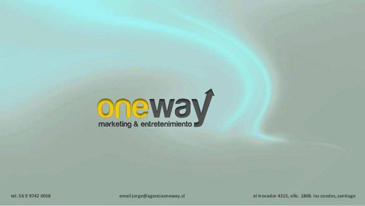 One Way Marketing & Entretenimiento (Brand Connection)